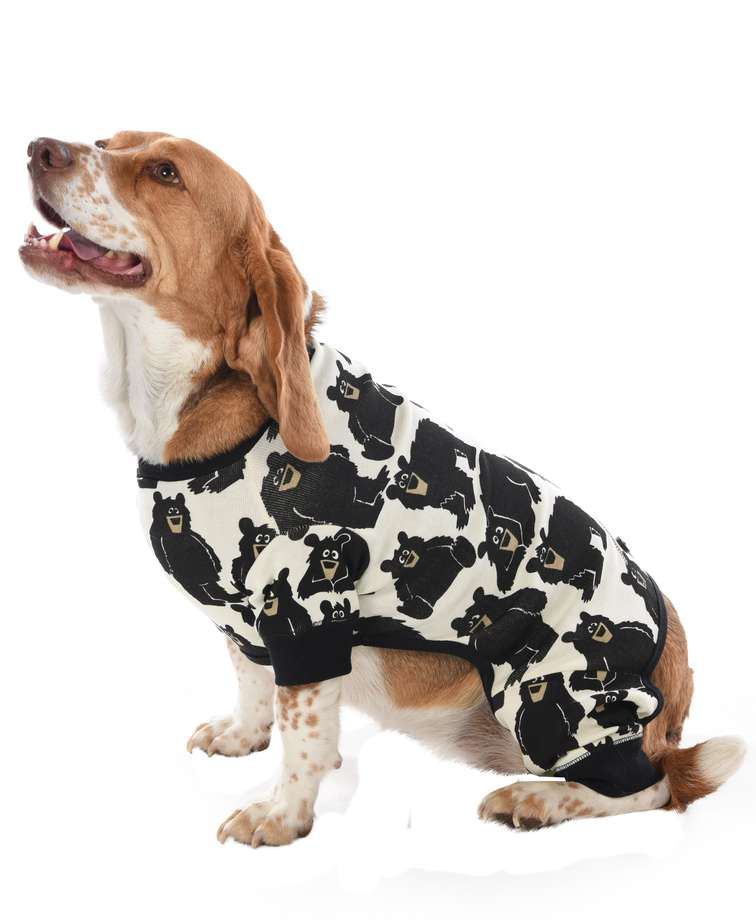 Family Bear Dog Onesie Flapjack