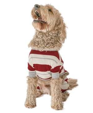 Country Stripe Dog Onesie Flapjack