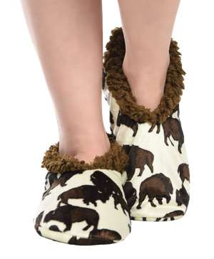 Buffalo Fuzzy Feet Slipper