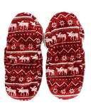 Nordic Moose Fuzzy Feet Slipper
