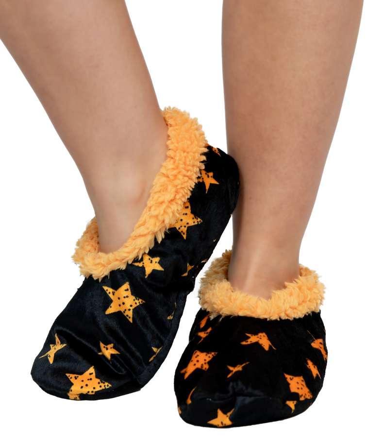 Stars Fuzzy Feet Slipper
