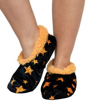 Stars Fuzzy Feet Slipper
