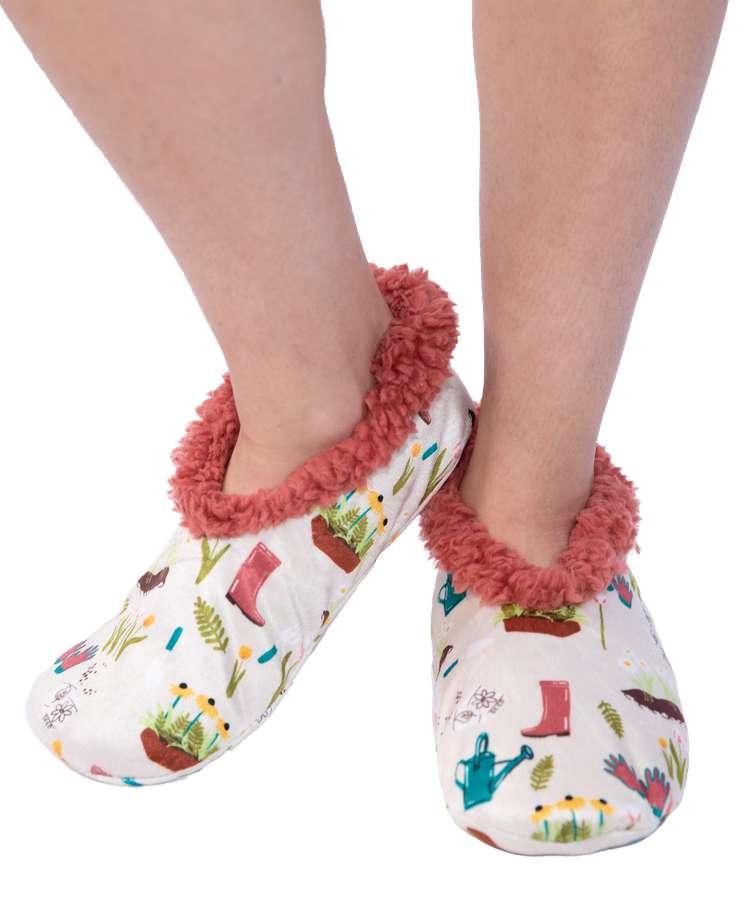 Love My Bed Fuzzy Feet Slipper