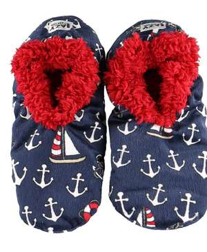 Drifting Off To Sleep Fuzzy Feet Slippers