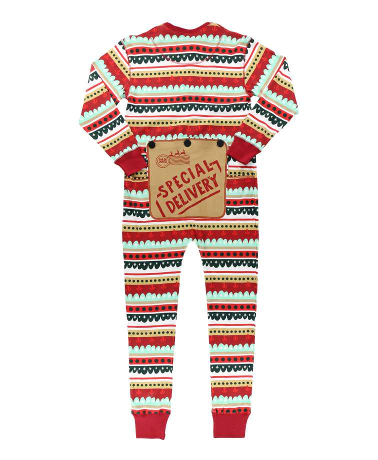 Special Delivery Adult Onesie Flapjack