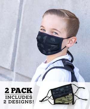 Bear & Moose Kid Face Mask 2-Pack