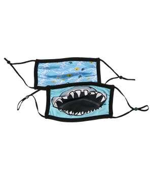 Shark Kid Face Mask 2-Pack