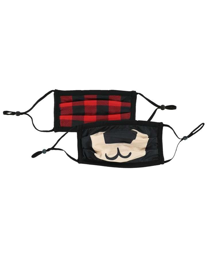 Bear Kid Face Mask 2-Pack