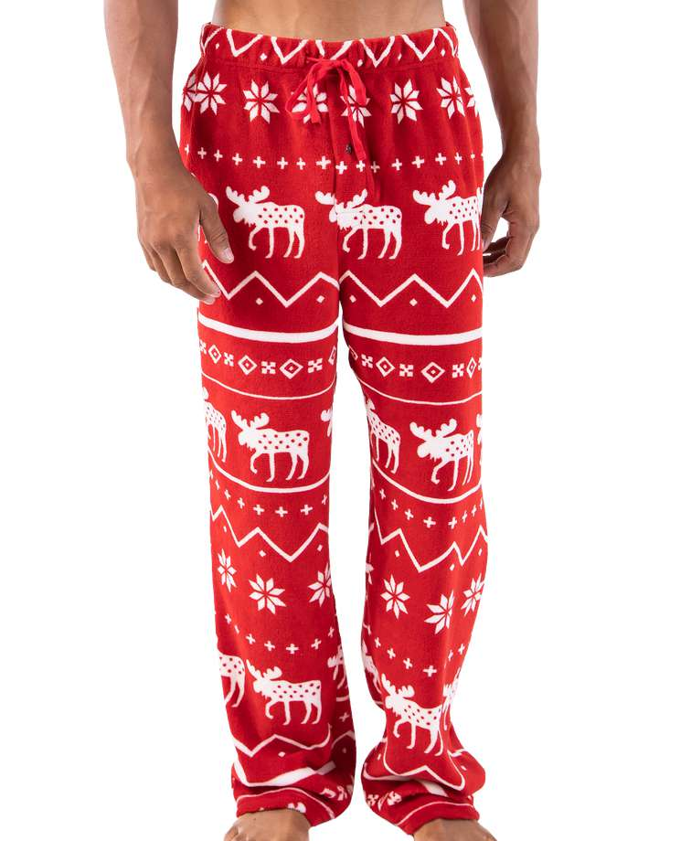 Nordic Moose Men's Fleece PJ Pant