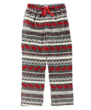 Cabin Moose Men's Fleece PJ Pants