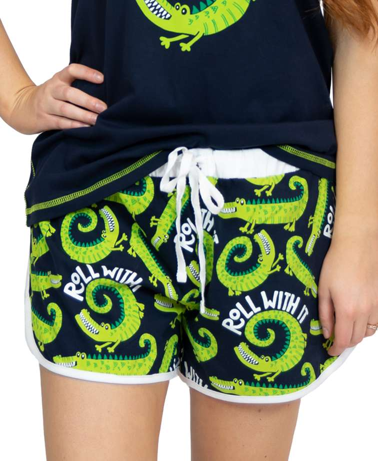 Roll With It Women's Alligator Shorts