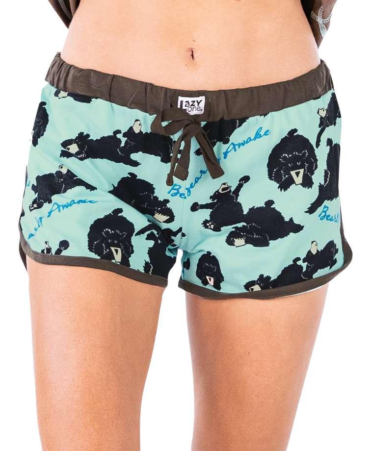 Bearly Awake Women's Shorts