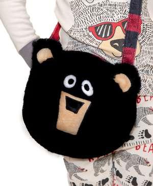 Black Bear Critter Purse
