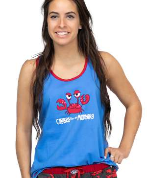 Crabby In The Morning Women's Tank Top