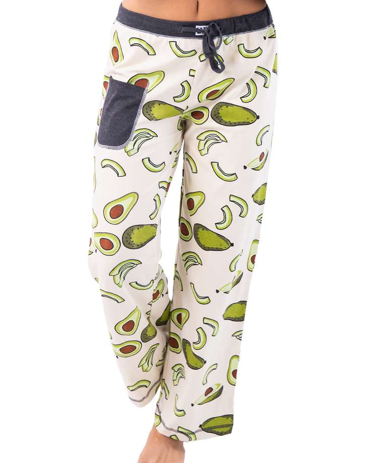 Avocado Go To Bed Women's Regular Fit PJ Pant