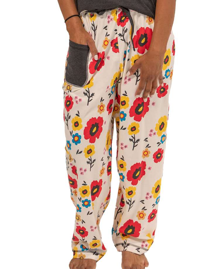 Rise & Shine Women's Regular Fit Flower PJ Pant