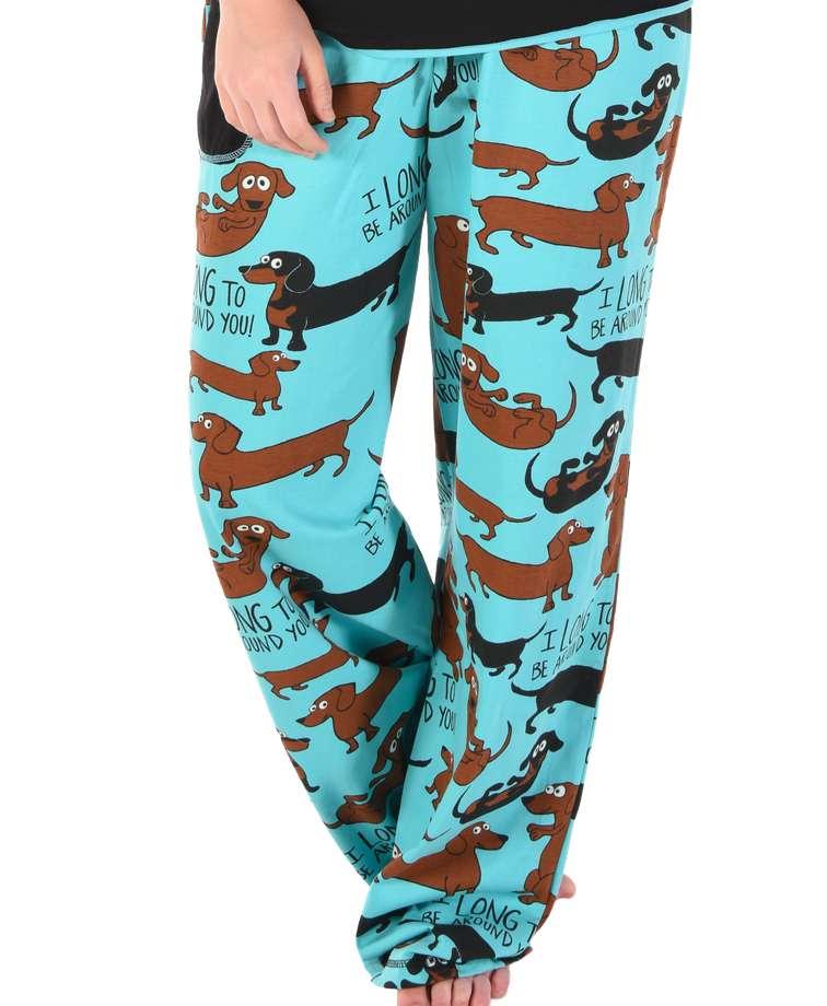 Long To Be Around You Women's Regular Fit Dog PJ Pant