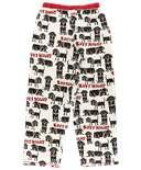 Ruff Night Women's Regular Fit Dog PJ Pant