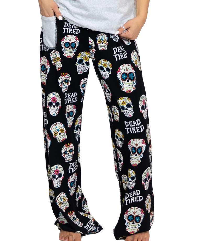 Dead Tired Women's Regular Fit PJ Pant