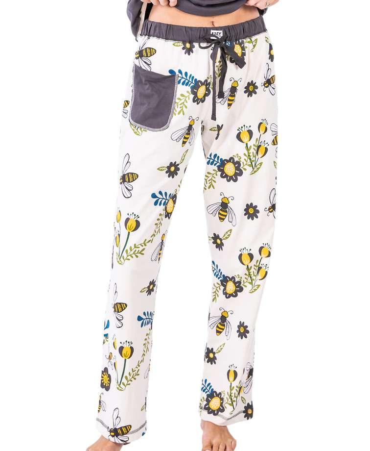 Queen Bee Women's Regular Fit PJ Pant