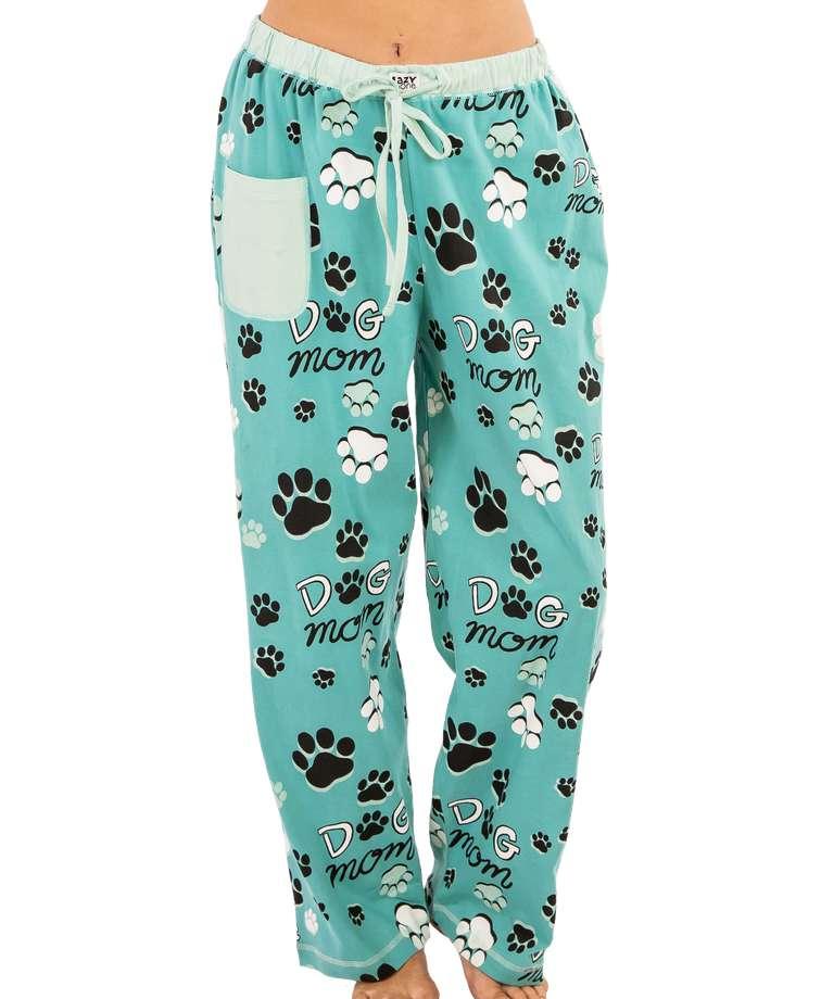Dog Mom Women's Regular Fit PJ Pant