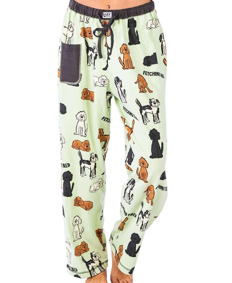 Fetching Tired Women's Regular Fit Dog PJ Pant