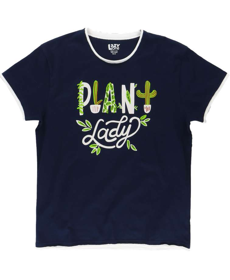 Plant Lady Women's Regular Fit PJ Tee