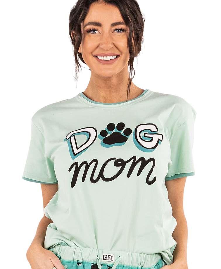 Dog Mom Women's Regular Fit PJ Tee