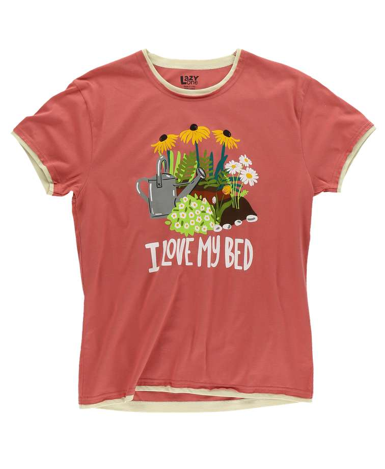 Love My Bed Women's Regular Fit PJ Tee