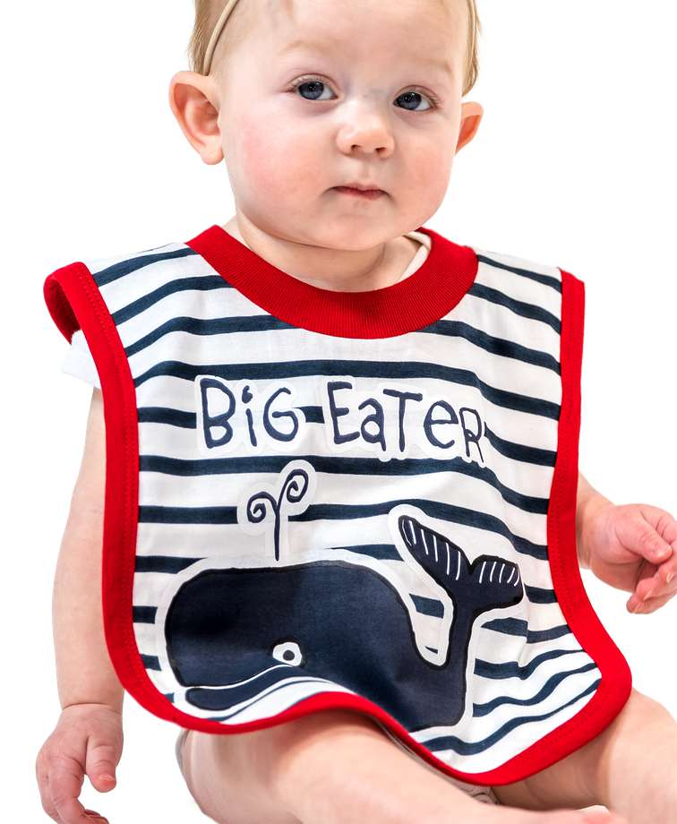 Big Eater Infant Bib