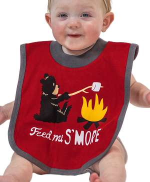 Bear Feed Me S'more Infant Bib