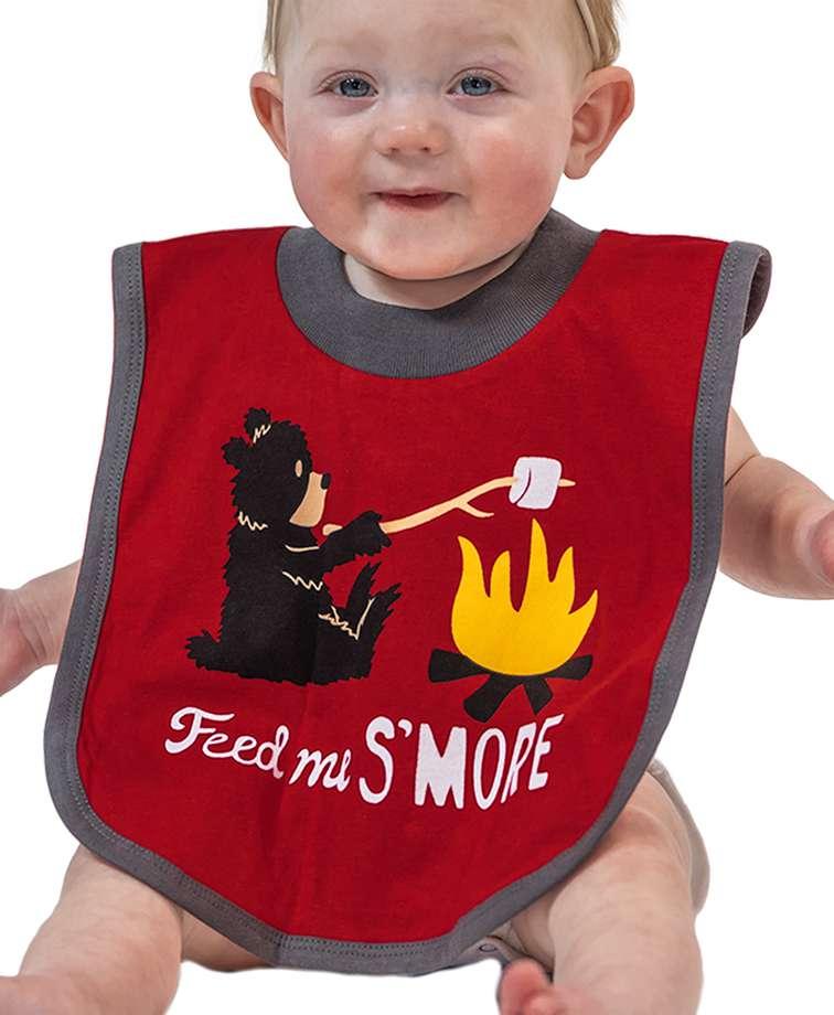Bear Feed Me S'more Infant Bib