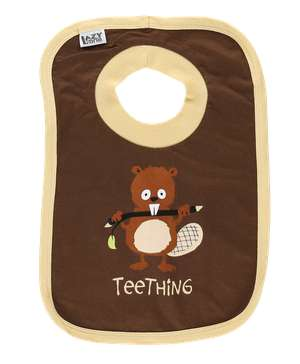 Teething Beaver Infant Bib