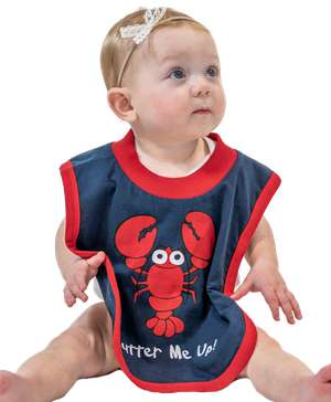 Butter Me Up Lobster Infant Bib