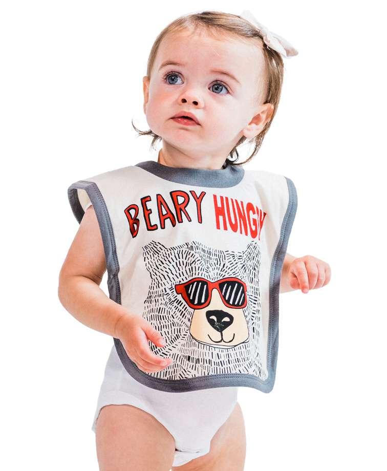 Beary Hungry Infant Bib