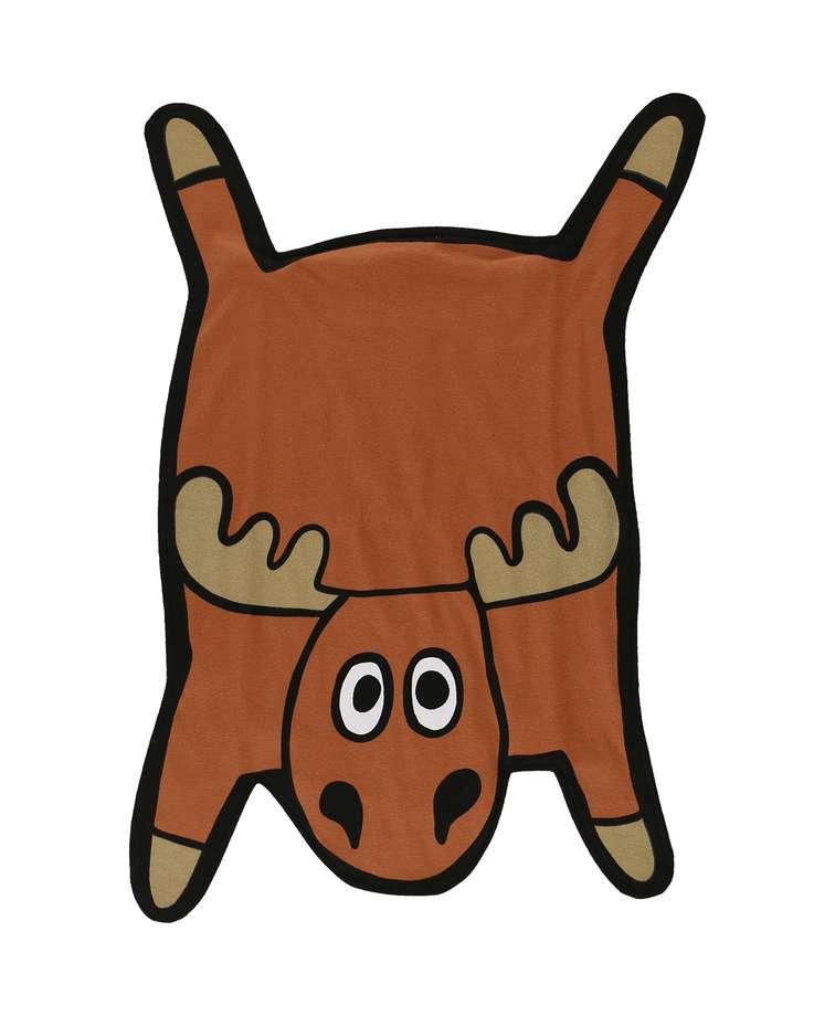 Moose   Critter Burp Cloth