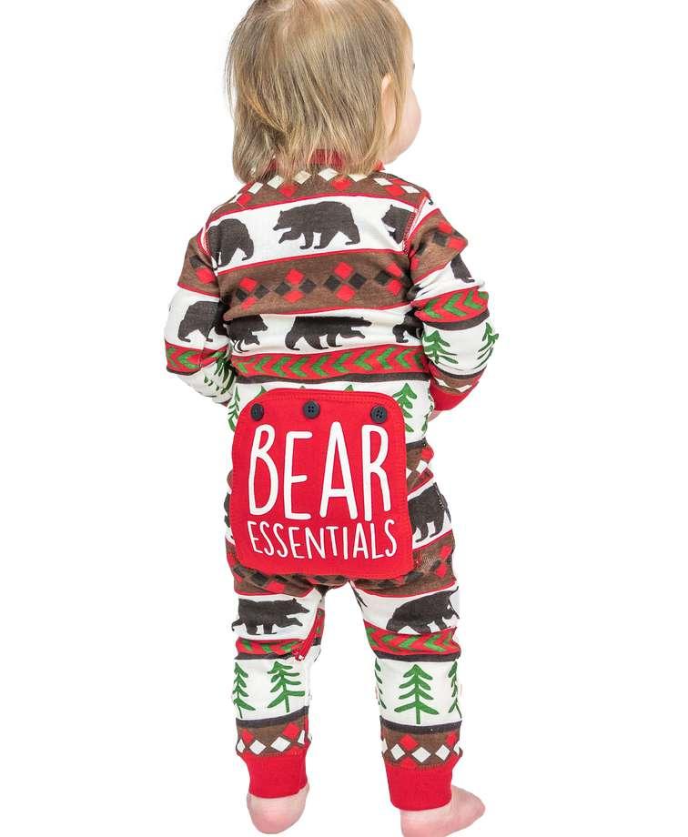 Bear Essentials Infant Onesie Flapjack