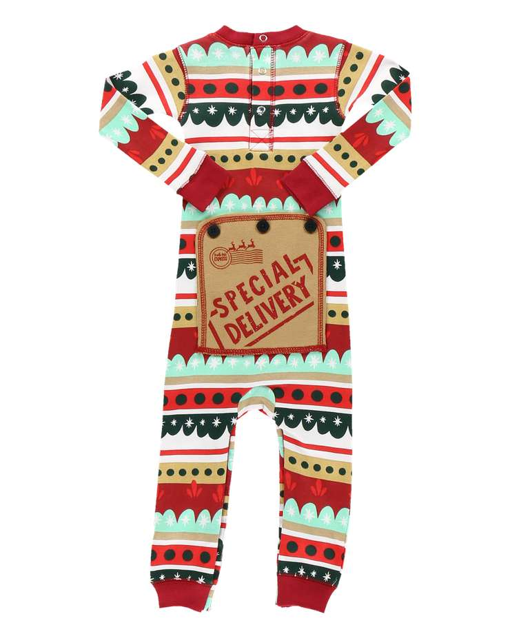 Special Delivery Infant Onesie Flapjack
