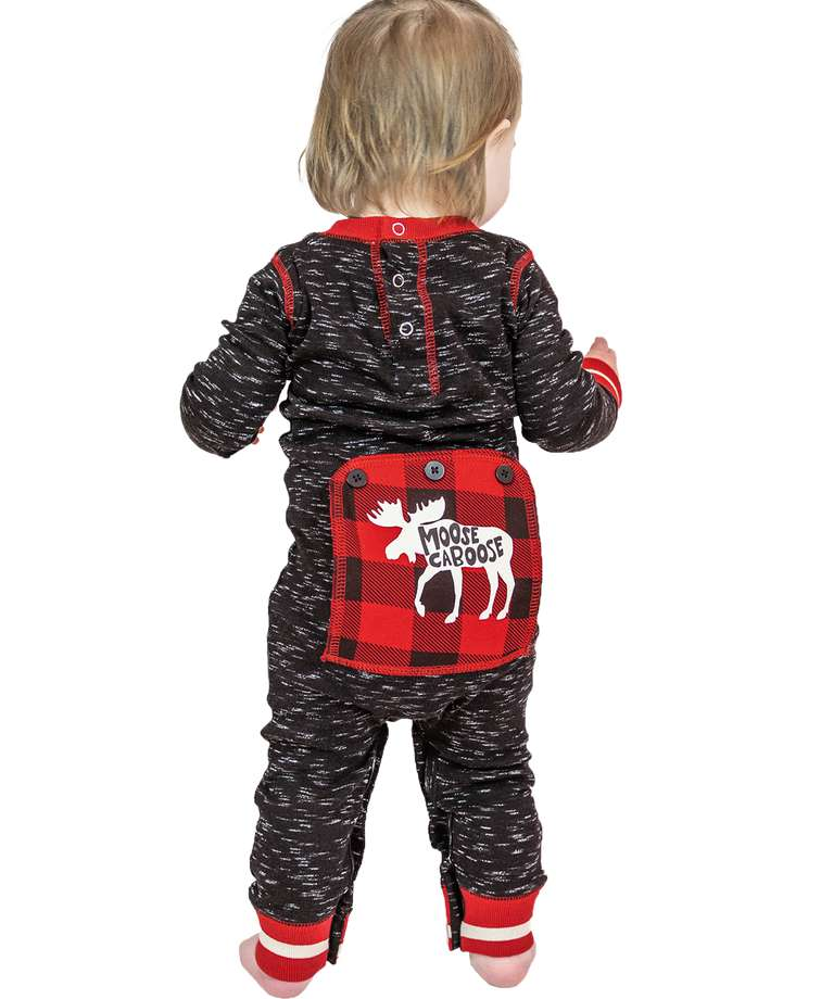 Moose Caboose Infant Onesie Flapjack