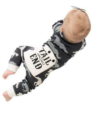 Tail End Infant Horse Flapjack Onesie