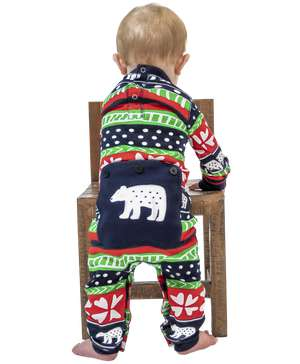 Sweater Bear Infant Polar Bear Onesie Flapjack