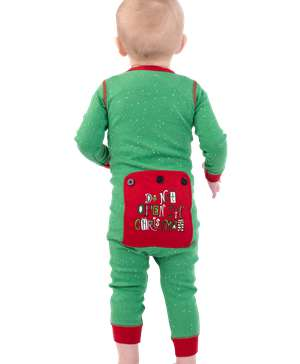 Don't Open Til Christmas Infant Onesie Flapjack