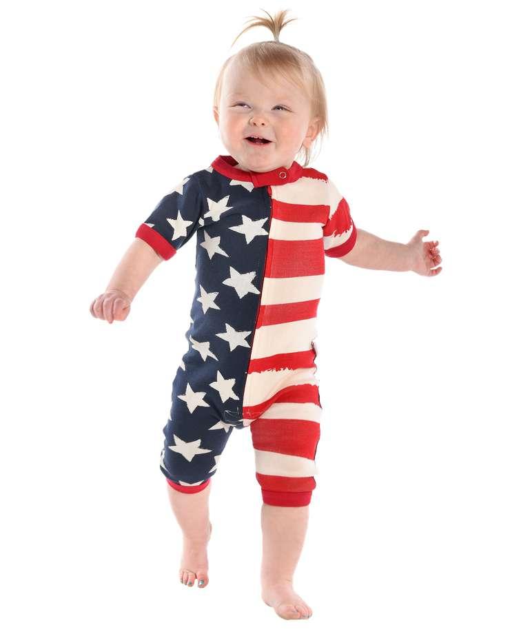 Stars & Stripes Infant Romper