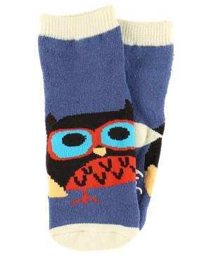 Owl Yours Blue Infant Sock