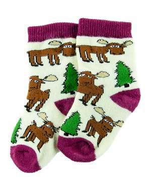 Moose Hug Infant Sock