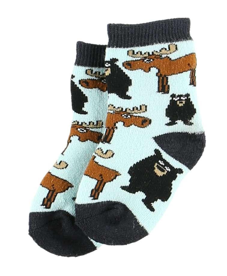 Born Wild Infant Sock
