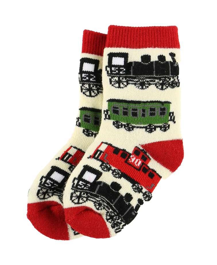 Train Infant Sock