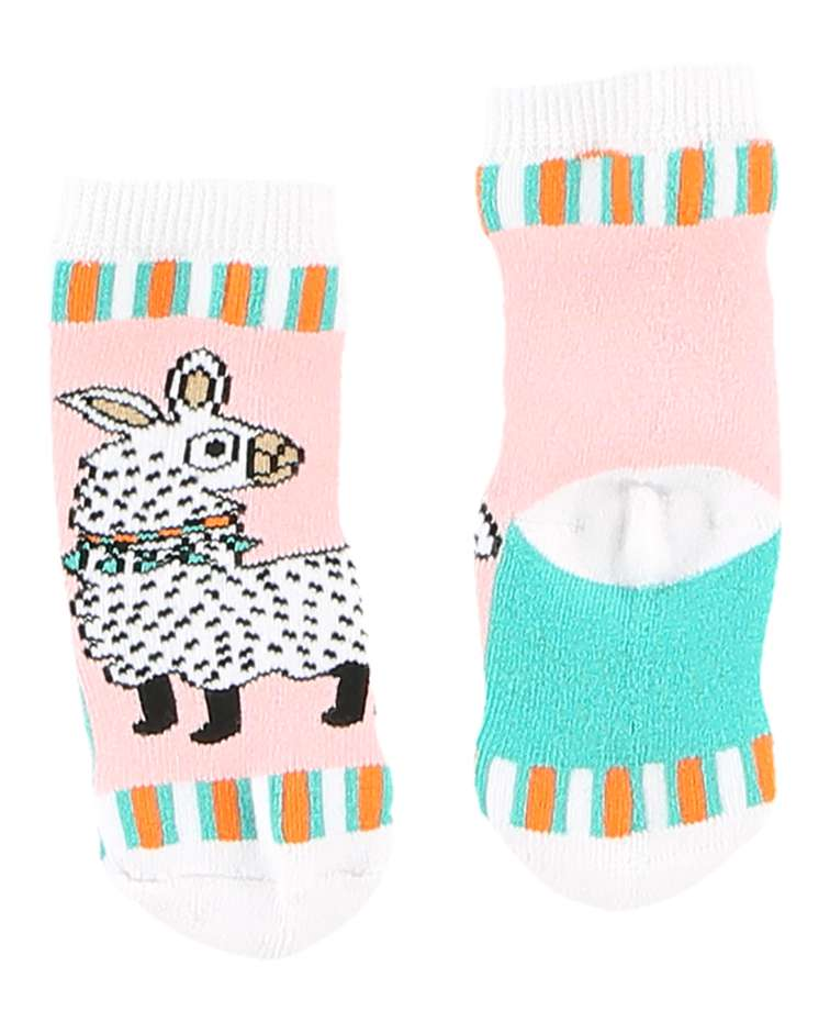 Llama Infant Sock