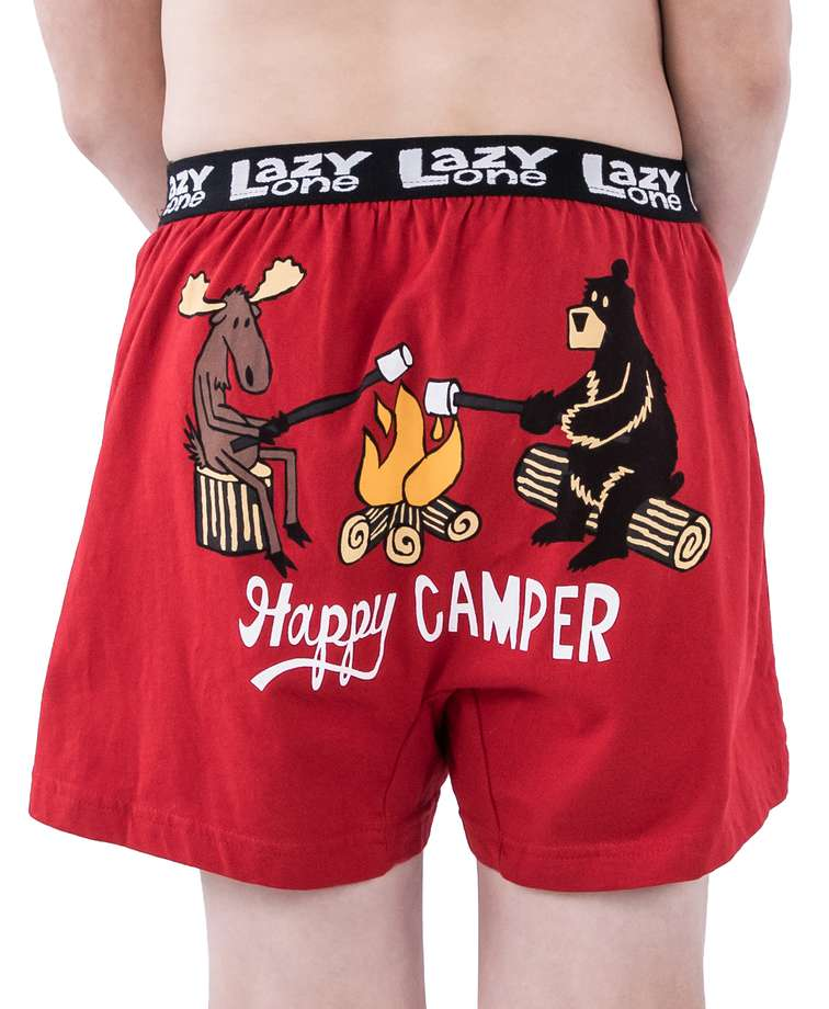 Happy Camper Kid Boxer