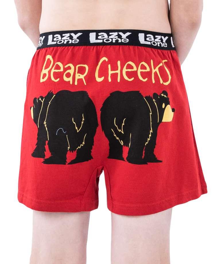 Bear Cheeks Kid Boxer